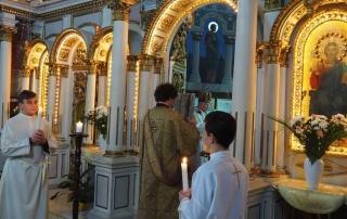 Hirotonire de preot în catedrala din Lugoj