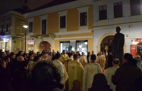 Parastas de pomenire a Cardinalului Iuliu Hossu la Cluj în ziua aniversării nașterii sale