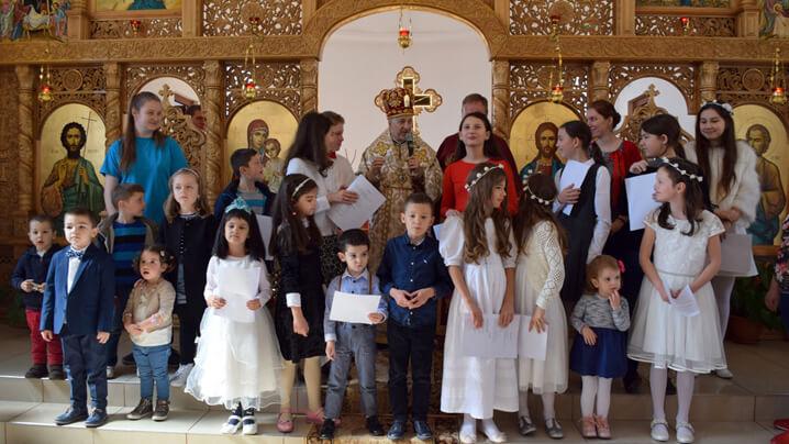 Hram și Prima Împărtășanie în parohia Sf. Iosif, Someșeni, Cluj