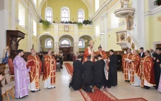 """Hramul Seminarului Teologic """"Bunavestire"""" din Blaj"""