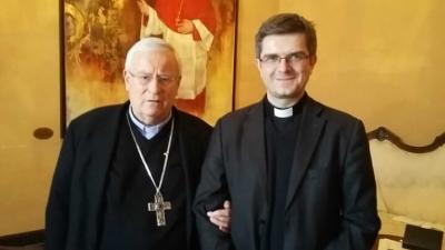 Vizitatorul Apostolic il întâlnește pe Președintele Conferinței Episcopale Italiene