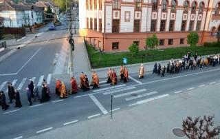 Calea Crucii cu procesiune la Blaj