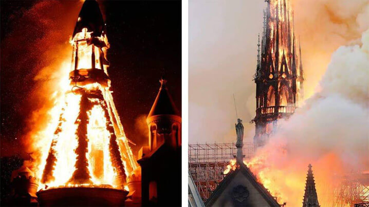 Mesajul PSS Virgil Bercea în urma incendiului Catedralei Notre-Dame din Paris