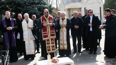"""""""Reîntoarcerea"""" Cardinalului Iuliu Hossu la sediul său episcopal din Cluj"""