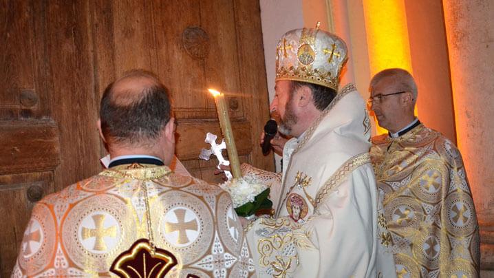 Slujba Învierii în Catedrala Blajului, aprilie 2019