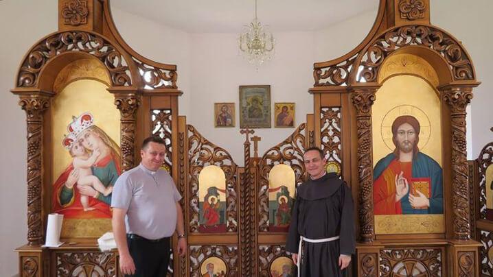 Vizita în Banat a părintelui Stefano Cecchin – Președintele Academiei Pontificale Mariane Internaționale