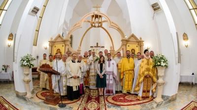 Hirotonire întru preoție de Paști, la Gherla