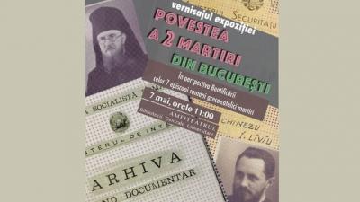 Povestea a doi martiri din București – Expoziție despre Vasile Aftenie și Tit Liviu Chinezu, episcopi greco-catolici martiri