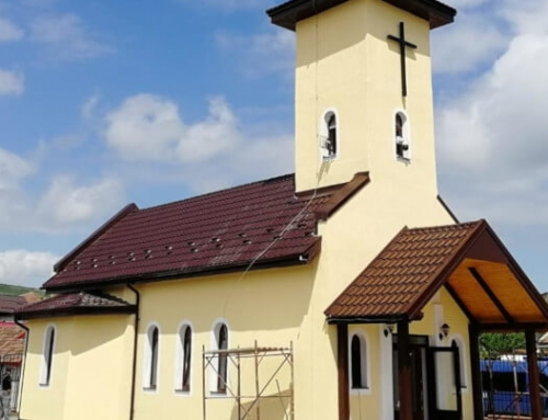 """Sfințirea Bisericii Greco-Catolice din cartierul """"Barbu Lăutaru"""" Blaj"""