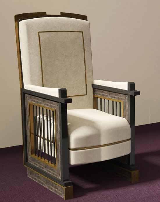 """Un tron arhieresc din """"gratiile închisorilor"""" pentru Papa Francisc"""