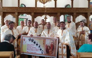 Binecuvântarea bisericii din Gurghiu