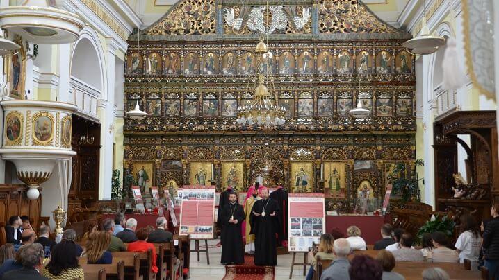 Vernisajul expoziției Șapte Martiri ai Micii Rome