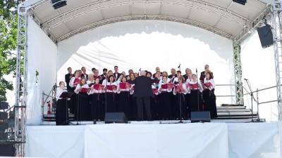 Vocile care au cântat pentru Sfântul Părinte la Blaj