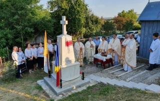 Sfințire de monument dedicat Fericiților Episcopi martiri