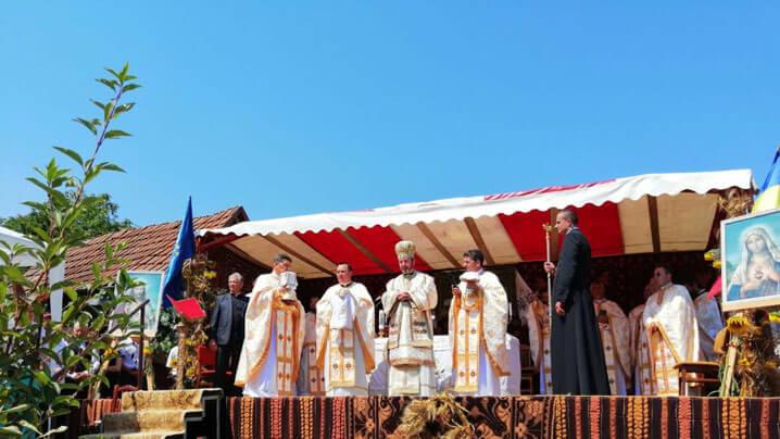 Sfințirea Bisericii Greco-Catolice din Budești