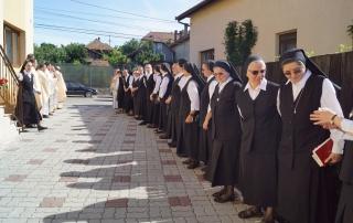 Sfințirea Casei Mamă a Congregaţiei Surorilor Maicii Domnului