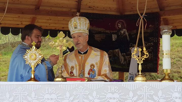 Adormirea Maicii Domnului la Nicula - Sfânta Liturghie arhierească