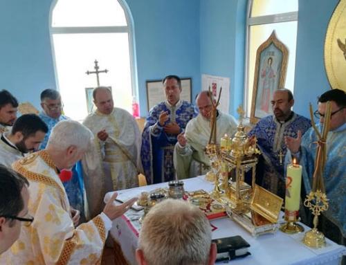 Înmulțirea harului la resfințirea bisericii din Dobrocina