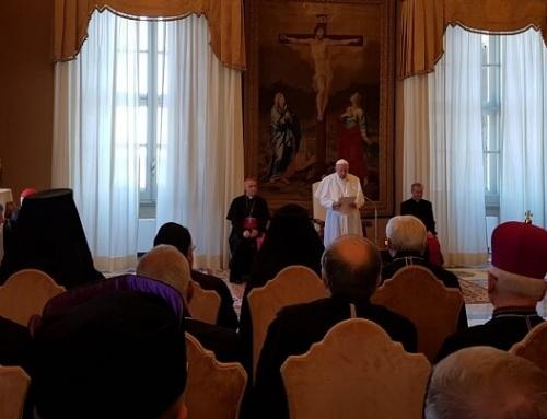 Episcopii Catolici Orientali din Europa în audiență la Sfântul Părinte