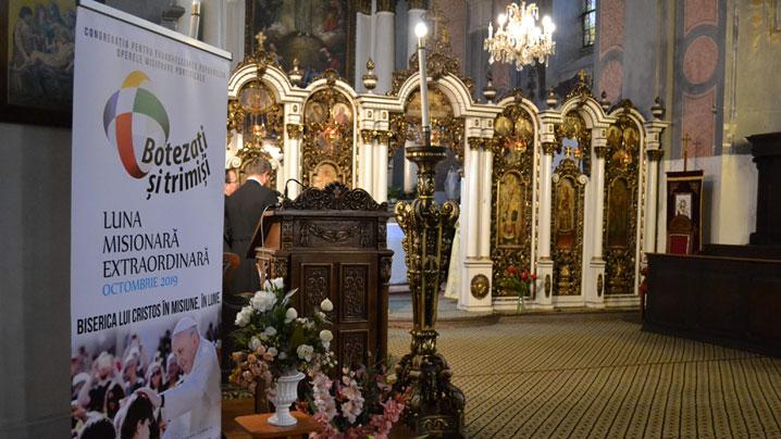 S-a deschis, la Cluj, Luna Misionară Extraordinară pentru Biserica Catolică din România