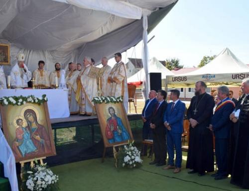 """Sfințirea bisericii """"Sf. Vasile cel Mare"""" din parohia Uriu, protopopiatul Beclean"""
