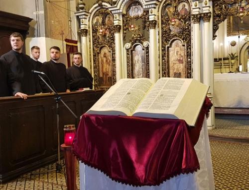 """Lumina Sfintei Scripturi invocată și evocată în Catedrala """"Schimbarea la Față"""" din Cluj-Napoca"""