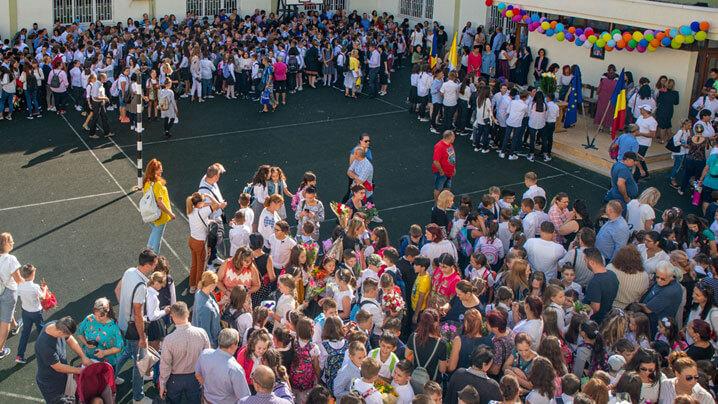"""Prima zi de școală la Liceul greco-catolic """"Timotei Cipariu"""""""