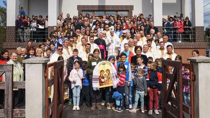 Sărbătoarea eparhială a Familiilor la Târgu Lăpuș