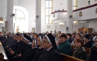"""Sărbătoarea sfințirii bisericii """"Sfântul Iosif"""" din Gherla"""