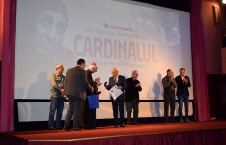 """Avanpremiera filmului """"Cardinalul"""" de Nicolae Mărgineanu la Cluj-Napoca"""