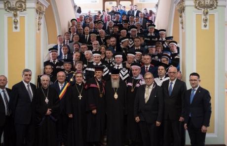 Nunțiul Apostolic la Gala Centenarului UBB