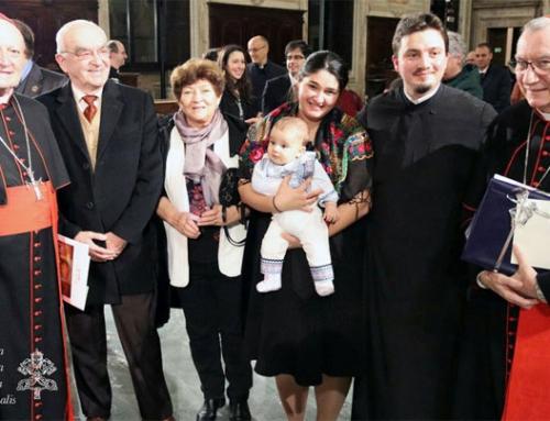 Cu pr. dr. Ionuț-Cătălin Blidar despre premiul Academiilor Pontificale 2019