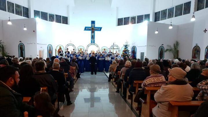 Pregătire pentru Sărbătoarea Nașterii Mântuitorului Nostru Isus Cristos, la Brașov