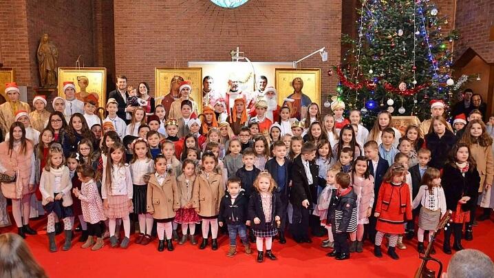 Sărbătoare în Parohia Greco-Catolică Română din Paris