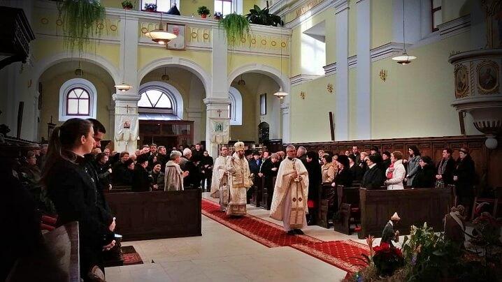 Sărbătoarea Nașterii Domnului în Catedrala Blajului