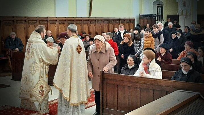 """Anul Nou în Catedrala """"Sfânta Treime"""" din Blaj"""