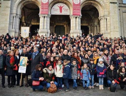 Credincioșii greco-catolici din Paris în pelerinaj la Bazilica Sacré Cœur