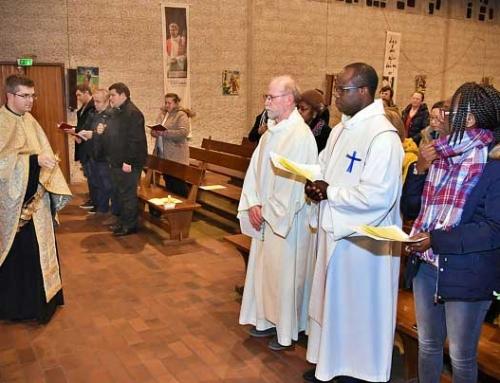 Paraclisul Maicii Domnului, în biserica Sfânta Tereza din Blanc Mesnil, Franța