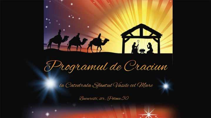 Programul de Crăciun de la Catedrala Sfântul Vasile