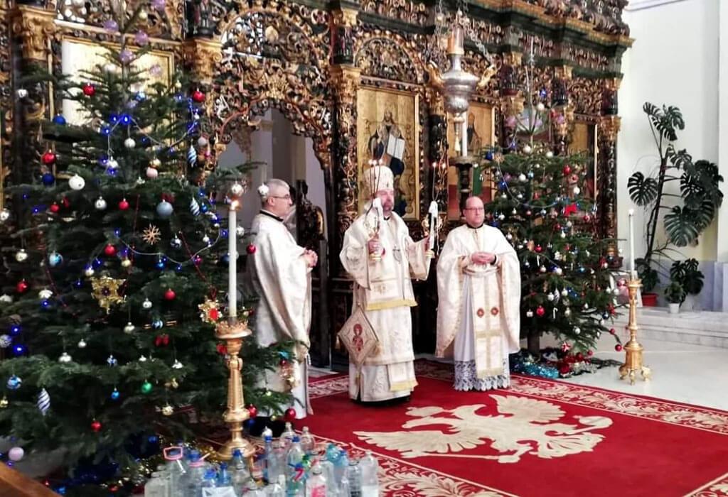 Sărbătoarea Botezului Domnului în Catedrala Arhiepiscopală Majoră din Blaj
