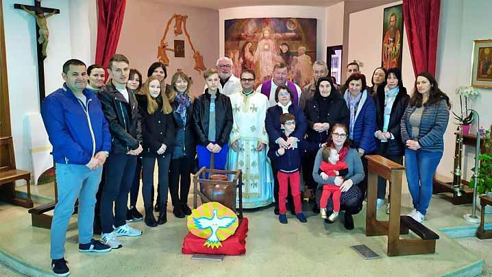 Celebrare pentru credincioșii greco-catolici români în localitatea Ladispoli (ITALIA)