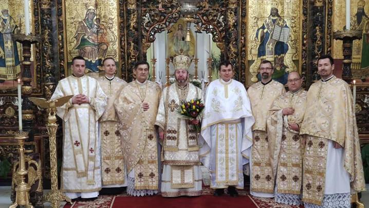 Hirotoniri de preot și diacon în Catedrala Blajului