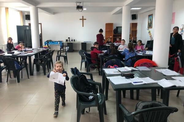 "Program After School la Oratoriul ""Don Carlo Gnocchi"" din Strâmtura"
