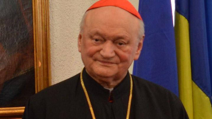 PF Cardinal Lucian mulțumește Sfântului Părinte pentru echipamentele medicale donate României