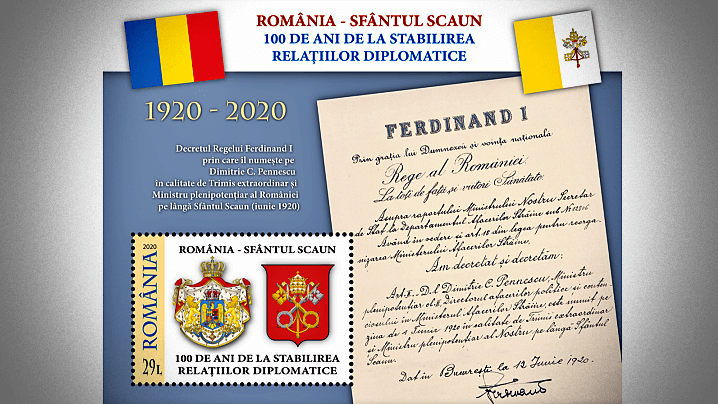 România-Sfântul Scaun, 100 de ani de la stabilirea relațiilor diplomatice