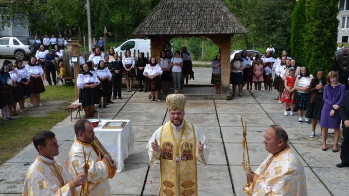 """""""Nașterea Sfântului Ioan Botezătorul"""" - hramul parohiei Dragomirești"""