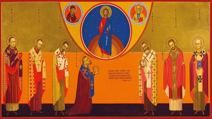Prima celebrare liturgică a Fericiților Episcopi Martiri Greco-Catolici Români