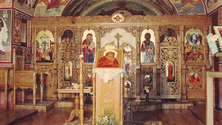 Sărbătoarea Schimbării la Față Mântuitorului, hramul Bisericii Sanctuarului Arhiepiscopal Major Schitul carmelitan Stânceni