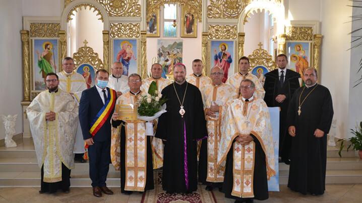 Felicitări părintelui Jurja Ionel, la 40 de ani de preoție!