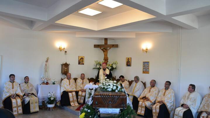 """Sora Veronica a fost condusă pe ultimul drum. PS Vasile: """"Avea un zel care mobiliza, te obliga la speranță…"""""""